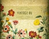 Etsy Banner Set - Vintage Garden Etsy Shop Banner Shop Icon Set - Premade etsy Banners