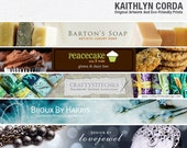 Custom Etsy Banner Set - Custom Shop Icon and Banner - Custom Etsy Shop Banner Set