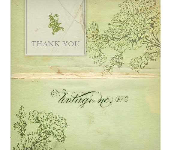 Etsy Banner - Vintage  Paper and Flowers Etsy Shop Banner
