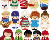 Pocket Pals (to knit by hand or machine) Pattern Book
