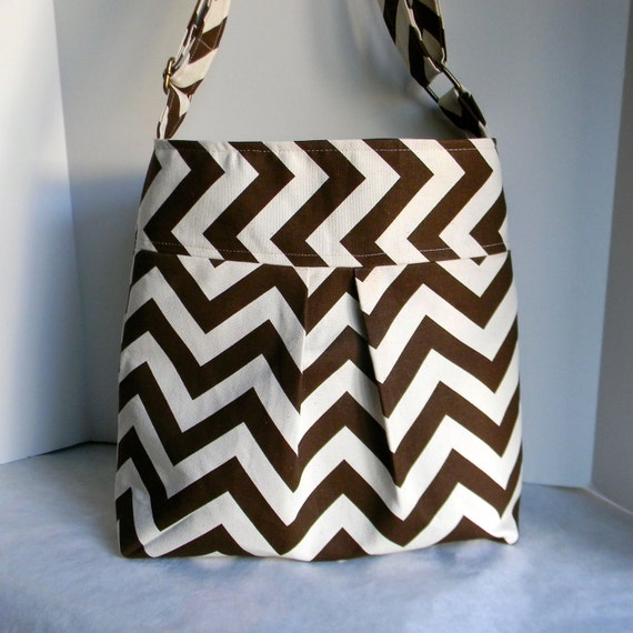 New Chevron Pleated bag Cross Body Shoulder bag - Available in many colors
