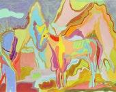 HORSE IN DESERT, Archival Print