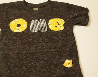 Bumble Bee Birthday Tee Organic Blend Colorful Birthday Shirt first birthday etc customize