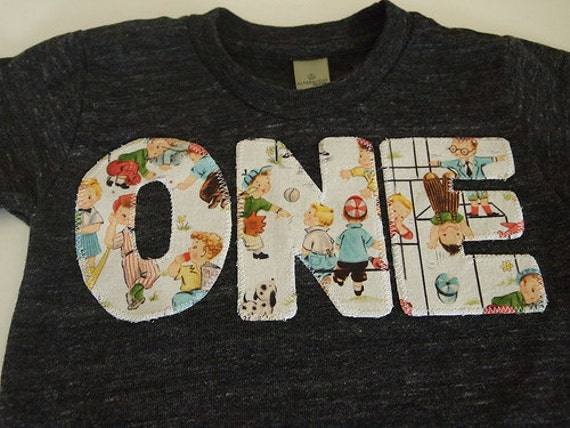 Playground Party Adorable Boys Vintage Birthday Shirt Organic Blend Birthday Tee perfect for first birthday Park Party