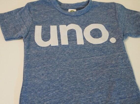 uno Birthday Tee, Organic Shirt, kid's birthday shirt, first birthday shirt, created for any birthday