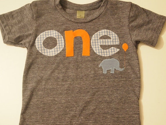 First birthday shirt, elephant birthday decor, Elephant and balloon, elephant theme, customize colors, any birthday boy or girl