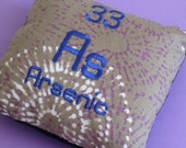 Arsenic Element Mini Pillow