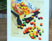 Frameable 5 x 7 Note Card Jelly Beans