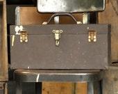 Vintage Kennedy Kits Toolbox Tote Model CS-13, Mechanic Machinist Hand Carry Tool Storage