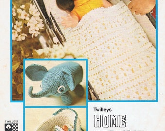 Baby Doll In A Carry Cot Basket Crochet Pattern Pdf Adorable