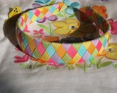 Gymboree M2MG Butterfly Blossoms 6 Ribbon Woven Headband