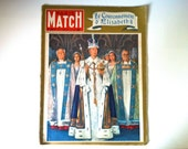 Paris Match number 220 - 6th of June 1953 - Vintage collector french magazine