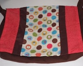 Chocolate Brown Messenger Bag Warm Colors
