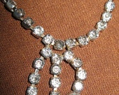 Faux Rhinestone Necklace