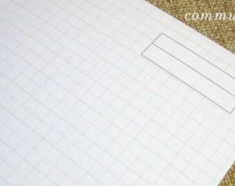 Communique Graph Paper