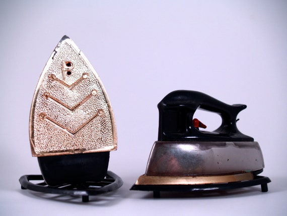 Little Irons Salt and Pepper Shakers