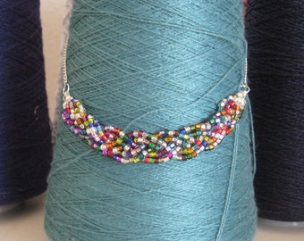 Beaded Braid Necklace