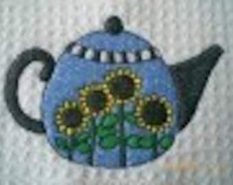 Debbie Mumm Teapot Kitchen Towels