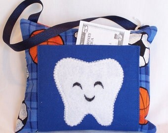 Sports Tooth Fairy Pillow