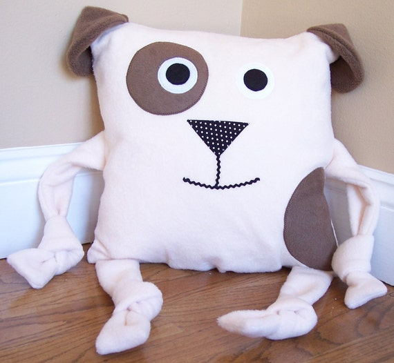 Animal Pillows : Dog Animal Pillow