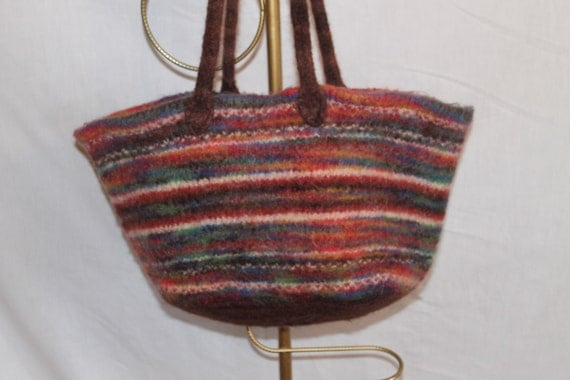 Tote, Felted Wool, large
