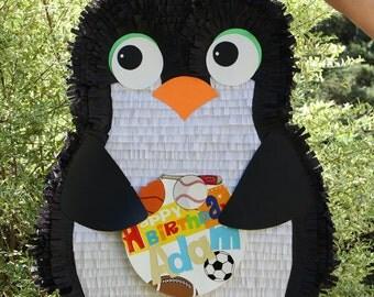 Penguin Pinata - Large Customizable Penguin Pinata