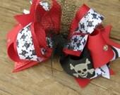 emo hair bow-punk hair bow