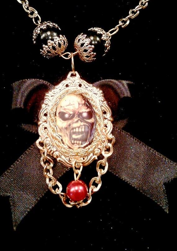 SALE SALE SALE Iron maidenbow necklace