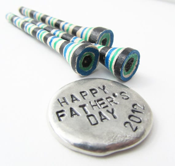 Fathers Day Gift - golf ball marker and golf tees