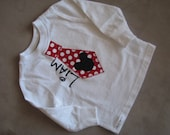 Mickey or Minnie personalized tee