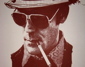 Hunter S. Thompson Fine Art Screen Print