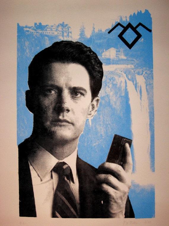 Twin Peaks: Special Agent Dale Cooper Fine Art Screen Print