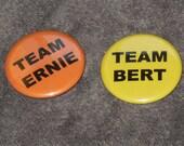 Bert and Ernie Support Buttons