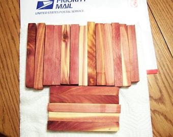 18 Aromatic Red Cedar Pen Blanks Wood Turning