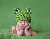 Newborn Mr. Frogger Beanie