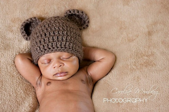 NB Baby Bear (Girl or Boy colors Available)