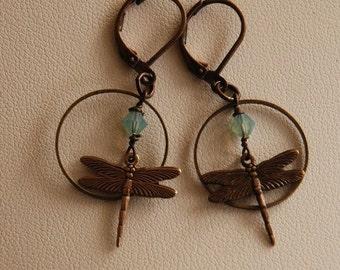 Reach Your Dream Dragonfly Earrings