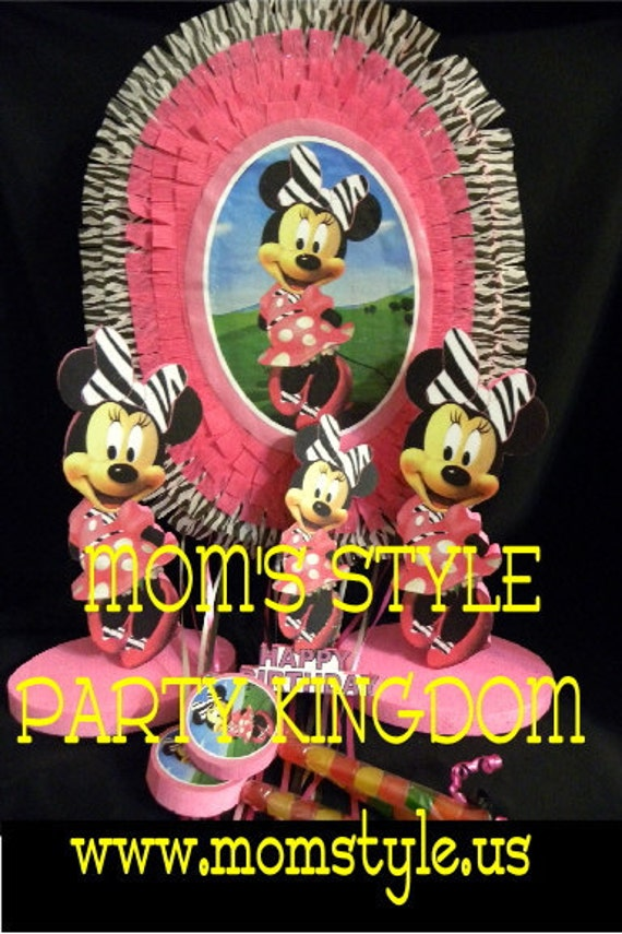 Minnie mouse birthday party package - shzb