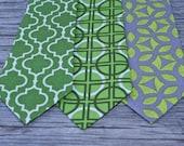 men's neckties, mens necktie, boys neck tie, green neck tie, green ties
