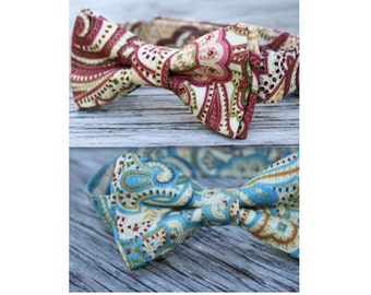 Paisley Bow Ties for Boys, Pick your favorite