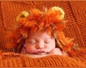 Newborn Lion Hat