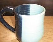 Dark and Light Blue Mug