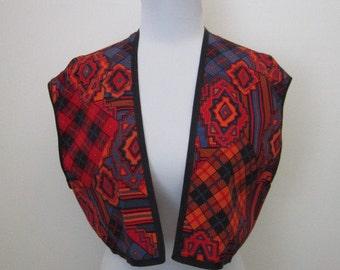 Vintage Tribal Vest // Bolero
