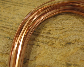 18 gauge Square copper wire 12 ft CWSQ18