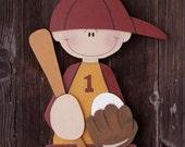 Baseball Player Painting Pattern