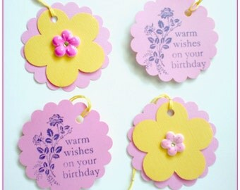 Birthday Wishes Gift Tags