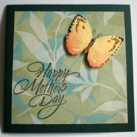 Mothers Day Card - Butterfly