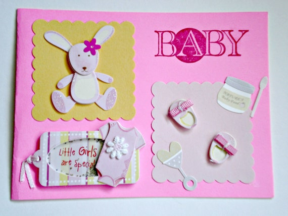 Baby Card - Little Girls are Special