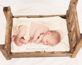 Baby Doll Bed, or Photography Prop, or pet bed
