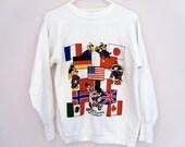 vintage 80s Epcot Center sweatshirt